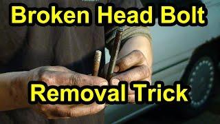 Broken Head Bolt Rem๐val Trick - Super Easy!