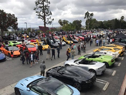 SUNSET GT Cars and Coffee - Los Angeles - Sunset Plaza - June 11th, 2017