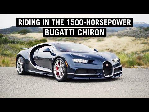 Riding in the 1500-Horsepower Bugatti Chiron