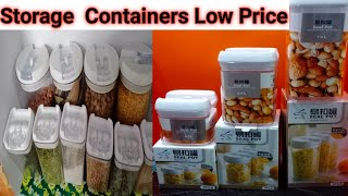 New Kitchen  Containers Set Offers Cheap & Best