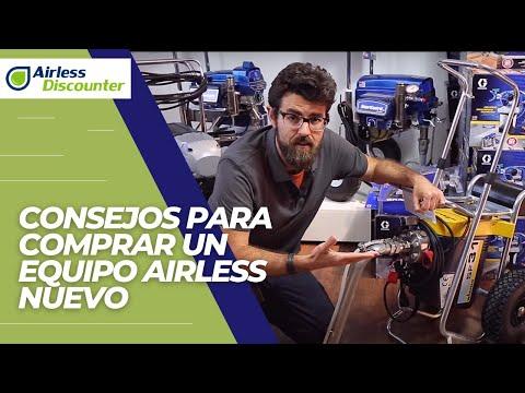 Consejos para la compra de un equipo nuevo airless