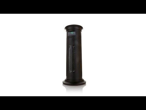 Lifesmart 6 300 Cubic Ft Infrared Tower Heater Fan Youtube