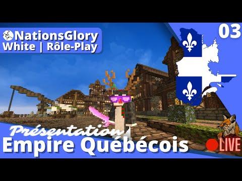 NationsGlory Rôle-Play | Présentation de pays EMPIRE-QUÉBÉCOIS WHITE Montgolfière perdue (+Leurs Bk)