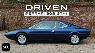 FERRARI 308 GT4 DINO 1974 - Test Drive in top gear - V8 engine sound! | SCC TV
