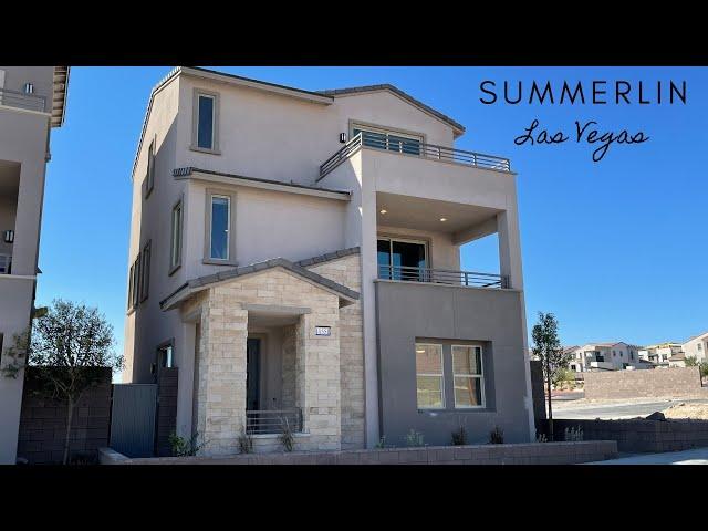 3 Story Views of Las Vegas Strip | Obsidian by Woodside Homes | Summerlin  Red Point | $474k+