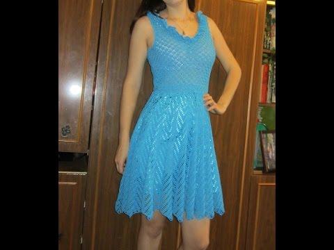 217a4d2c9 vestidos tejidos en crochet para dama - YouTube