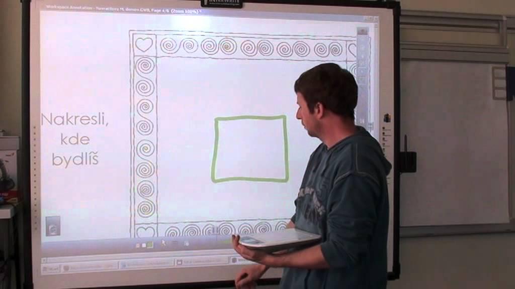 Připojte promethean smart board