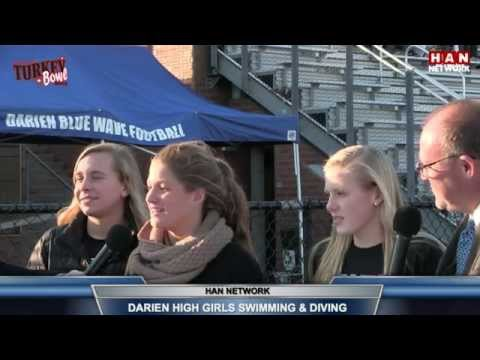 2015 Turkey Bowl-FCIAC Championship Preview Show LIVE from Darien High School