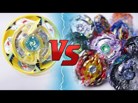 BEYBLADE BURST BATTLE | Maximum Garuda VS ALL God Layer Beyblade burst