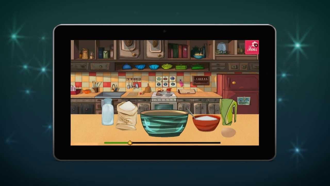 Make a cake - Cooking games - Mobile App