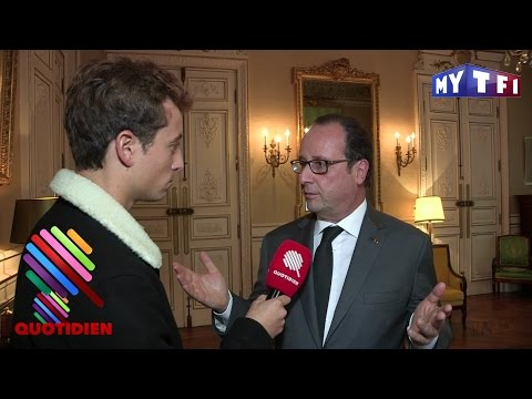 L'interview de François Hollande à propos de Poutine par Quotidien