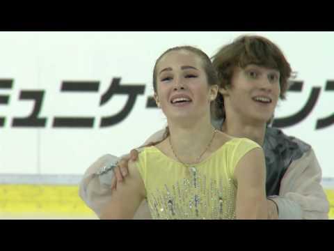 2016 ISU Junior Grand Prix - Ljubljana - Free Dance - Sofia POLISHCHUK / Alexander VAKHNOV RUS