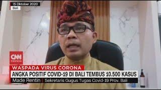 Angka Positif Covid-19 di Bali Tembus 10.500 Kasus