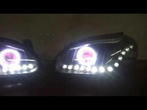 DAEWOO LANOS #7 HEADLIGHTS - YouTube