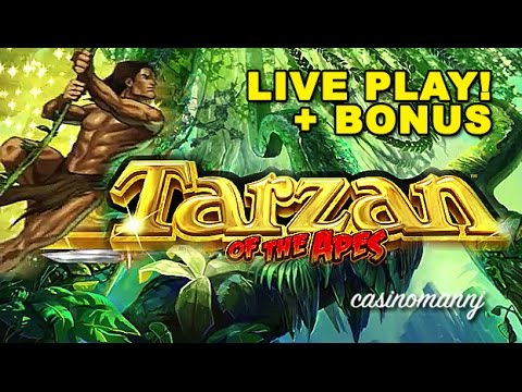 Tarzan Slot Machine Free Play