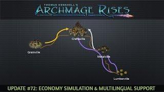 Update #72: Economy Simulation & Multilingual Support