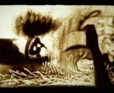 Dessin sur sable+David Vendetta .!.  Cosa Nostra