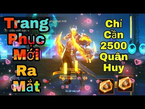 [Gcaothu] Trang phục mới Nakroth Siêu Việt chính thức ra mắt - Mua chỉ với 2500 quân huy siêu rẻ