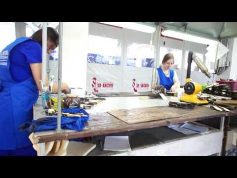 Обувное производство на заводе Обувь Россия (г. Бердск. Новосибирская область)