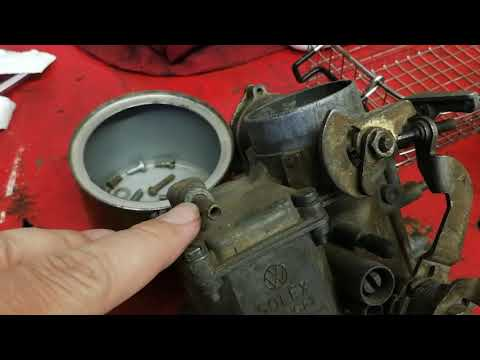 VW carburetor rebuild Tips, Cleaning with Ultrasonic