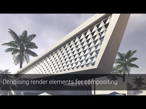 V-Ray Next For Rhino – Denoising Render Elements For Compositing