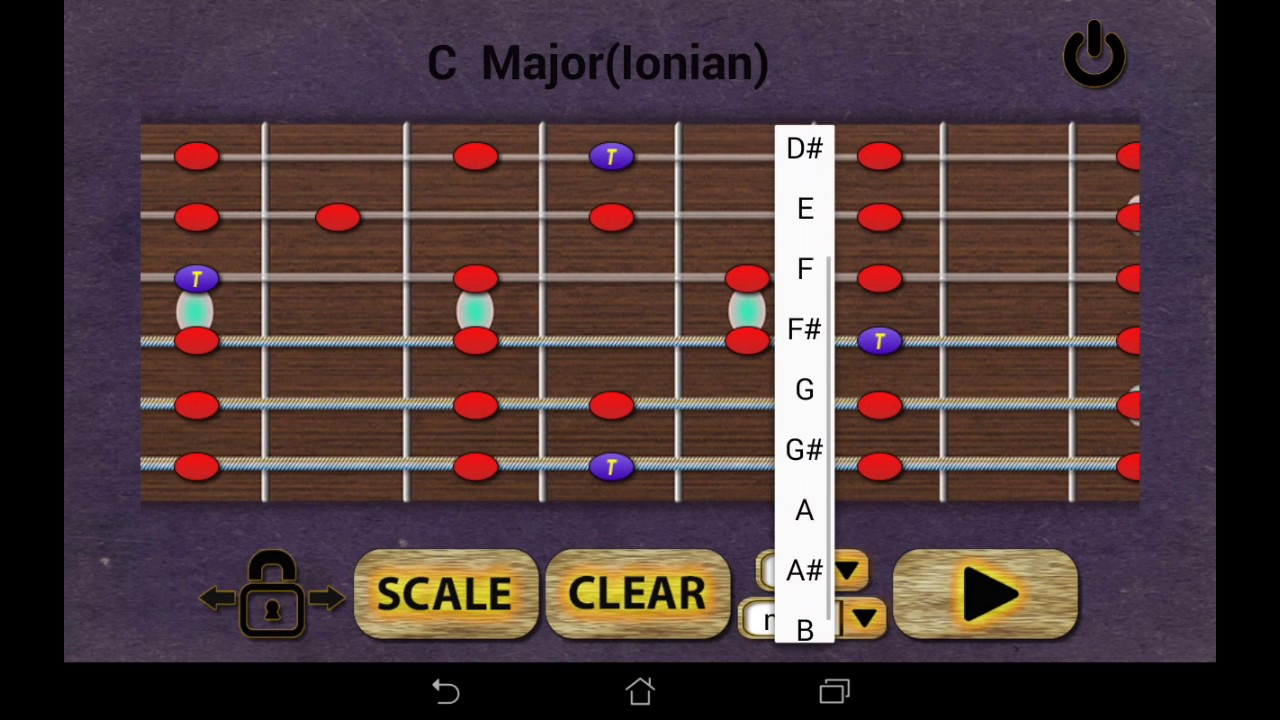 learn guitar scales android app youtube. Black Bedroom Furniture Sets. Home Design Ideas