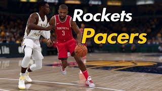 NBA LIVE 19 | Houston Rockets vs. IND Pacers |Regular Season |  #NBATV #ESPN