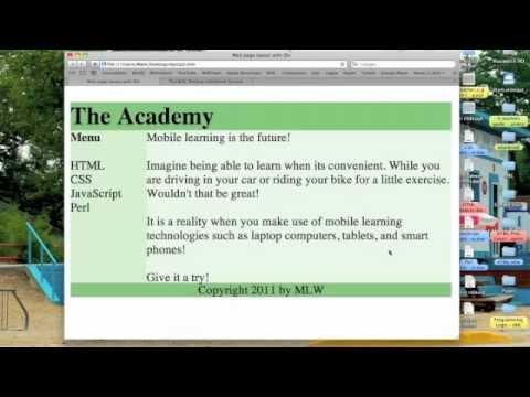 HTML: w3c Validation - YouTube