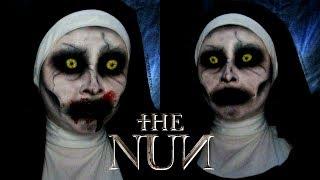 Valak The Nun Halloween Makeup Tutorial   Sydney Nicole