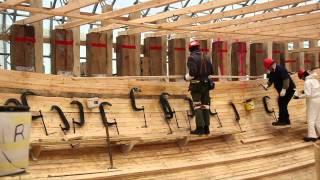 Bluenose II - Assembling the Ceiling