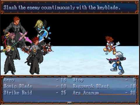 Kingdom Hearts- Ledgendary Blades (RPG Maker 2003)(Cancelled)