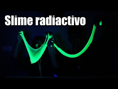 HACEMOS SLIME FLUORESCENTE + Q&A | Hermanos Jaso