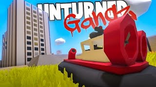 Unturned GangZ Hawaii S5E3: STEALING A HOVERCRAFT! (Hawaii Multiplayer Gameplay)