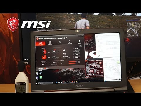GT75VR Titan: Dragon Center of Cooling and Noise Control Intro | MSI