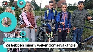 Kinderen op Ameland gaan nu alweer naar school