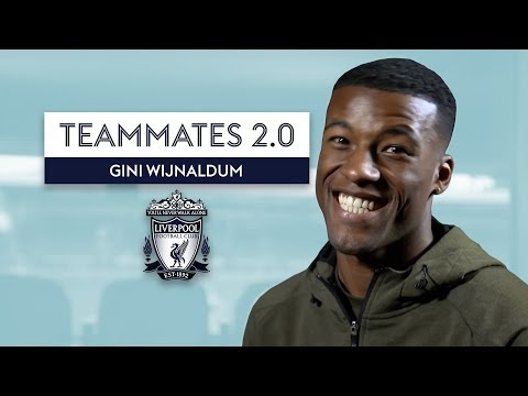 Who is the BEST Dancer at Liverpool? | Gini Wijnaldum | Teammates 2.0