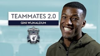 Who is the BEST Dancer at Liverpool? | Gini Wijnaldum | Teammates 2.0