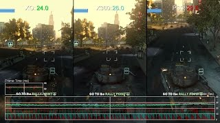 Prototype 2: Xbox One HD Remaster vs Xbox 360 vs PS3 Gameplay Frame-Rate Test