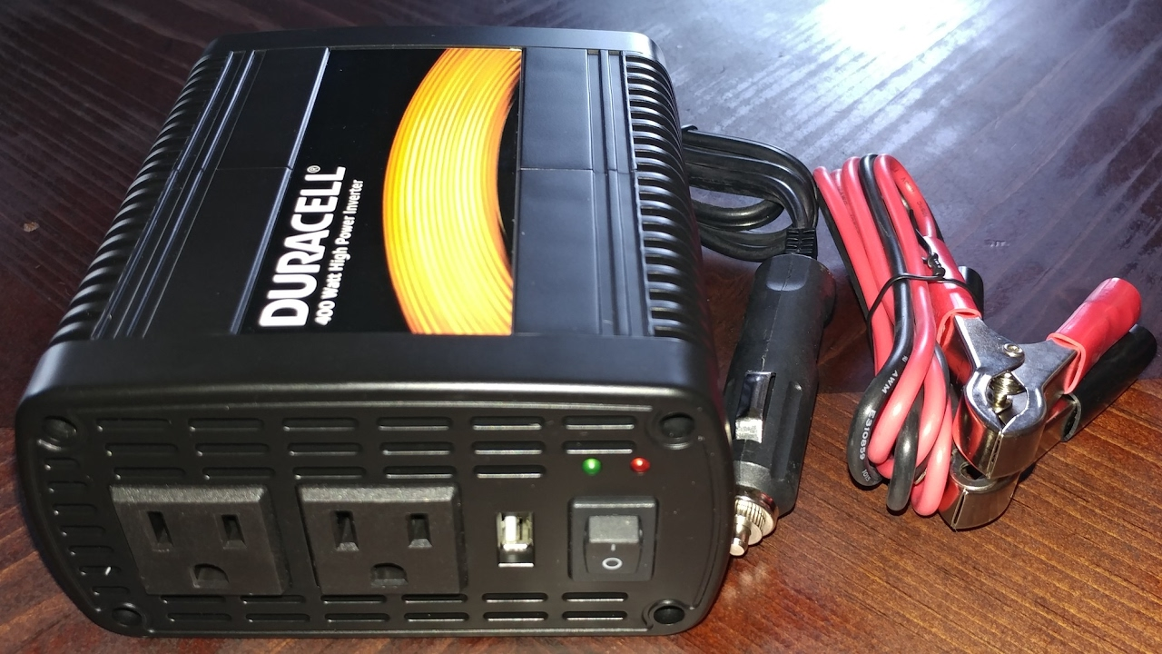 How To Connect W Inverter To Car Battery Youtube