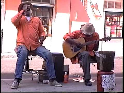 "(Hoochie Coochie Man)  ""Im a man"" (1994) Grandpa Elliott and Stoney B., New Orleans"
