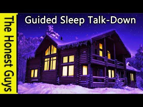 Guided Sleep Meditation: The Log Cabin. Blissful Sleep Talk-Down. Insomnia Relaxation