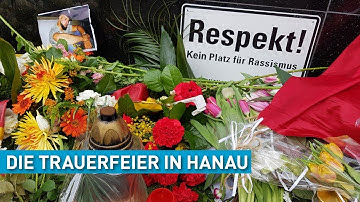 Trauerfeier in Hanau   Hessen Extra