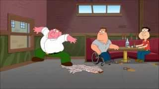 Family guy - Peter molts into another Peter