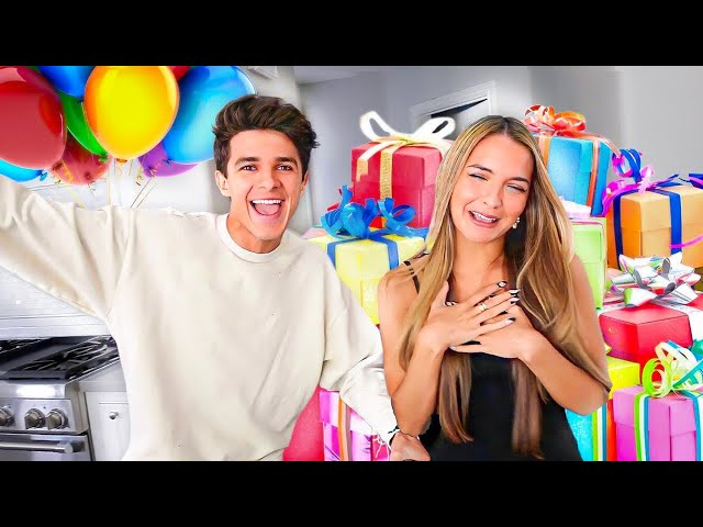 SURPRISING MY SISTER WITH 20 GIFTS FOR HER 20TH BIRTHDAY!!