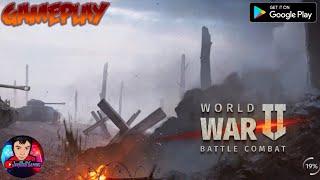 WORLD WAR 2: BATTLE COMBAT (OFFICIAL) 2021 New Online-FPS Game Mobile-Gameplay