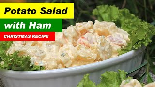 Potato Salad With Ham Recipe | Potato Salad Filipino Style | How To Make Potato