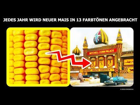 Der einzige Maispalast der Welt