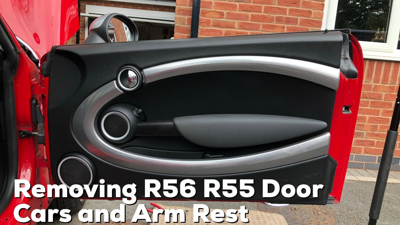 Mini R56 R55 How To Remove The Door Card And Arm Rest Cover Faq Instructions 2007 2014 Cooper S Youtube