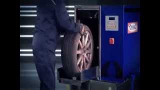 Автоматическая мойка колес Торнадо. Обзор мойки колес.