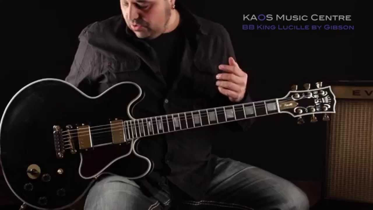 KAOS Gear Demo - Gibson B B  King Lucille